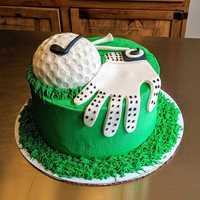 Golf themed #groomscake #cake #navarrebeach