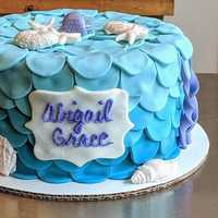 Beach themed #cake #navarrebeach