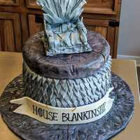 Groom's #cake #gameofthrones #ironthrone
