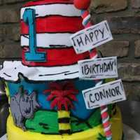 Birthday #cake #drseuss