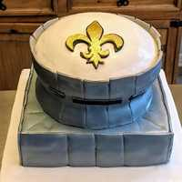 Groom's #cake #superdome #whodat #saints
